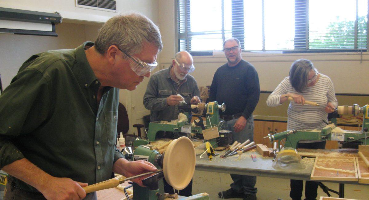 Wood Turning Class Feb. 2012 010